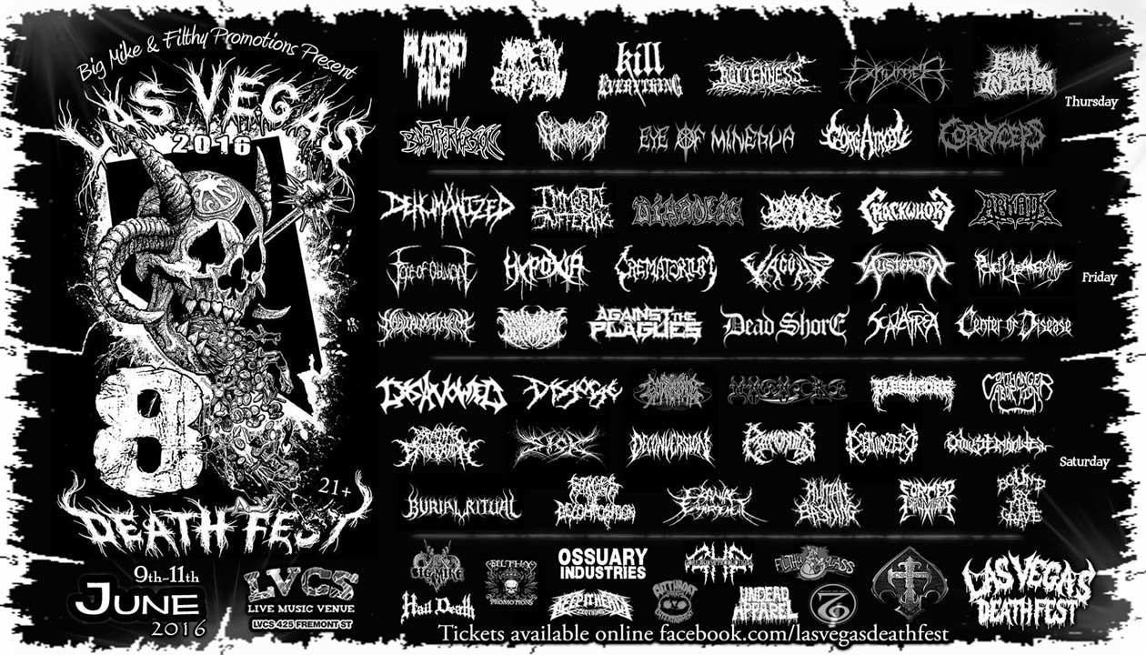 Las Vegas Deathfest tickets
